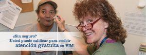 Volunteers In Medicine HHI Patient Eligibility Spanish