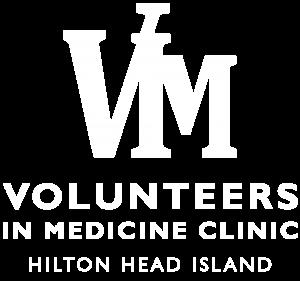 VIM Clinic Logo Vert 2021 White