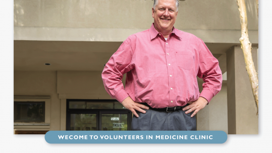Dr. John Newman - Executive Director of Volunteers in Medicine Clinic
