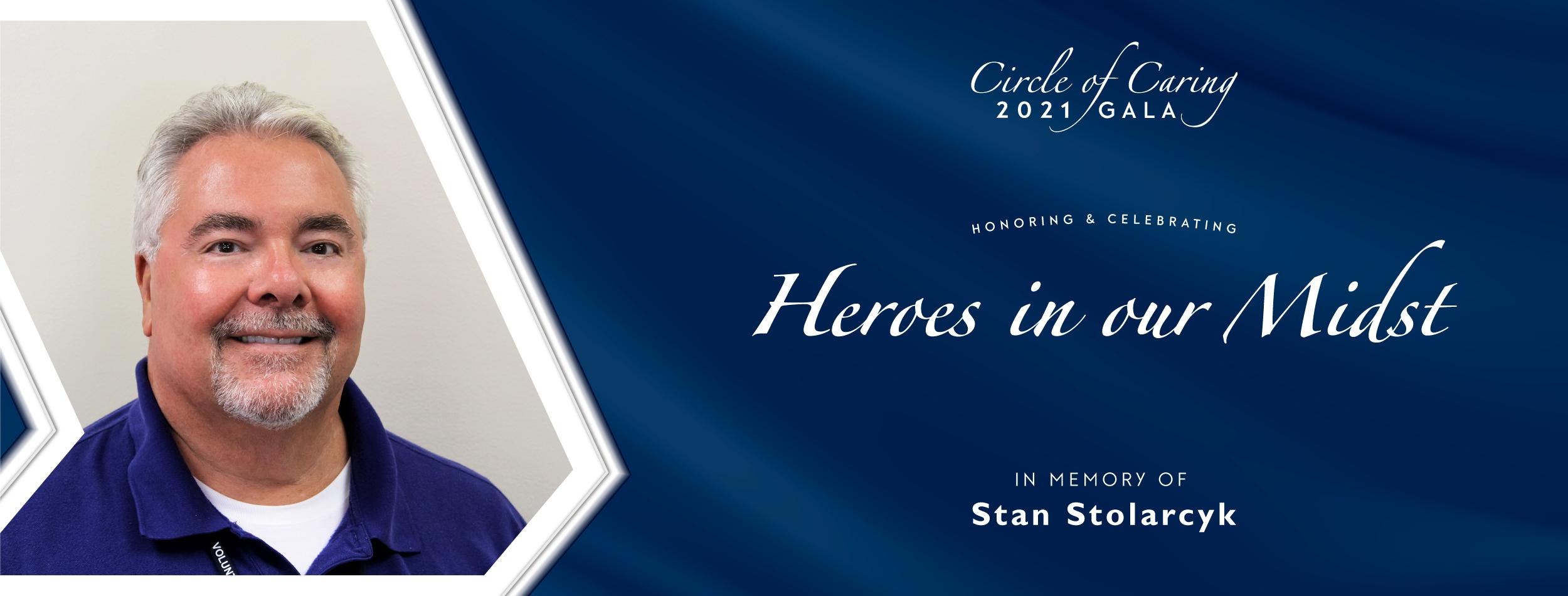 2021 Circle of Caring Gala Stan Stolarcyk | Volunteers in Medicine Clinic