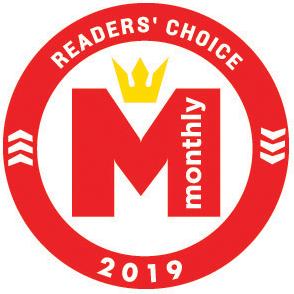 Hilton Head Monthly Readers' Choice 2019